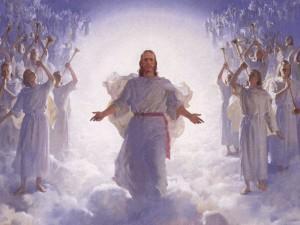 Isus i anđeli