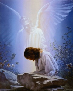 Anđeo Služi Isusu