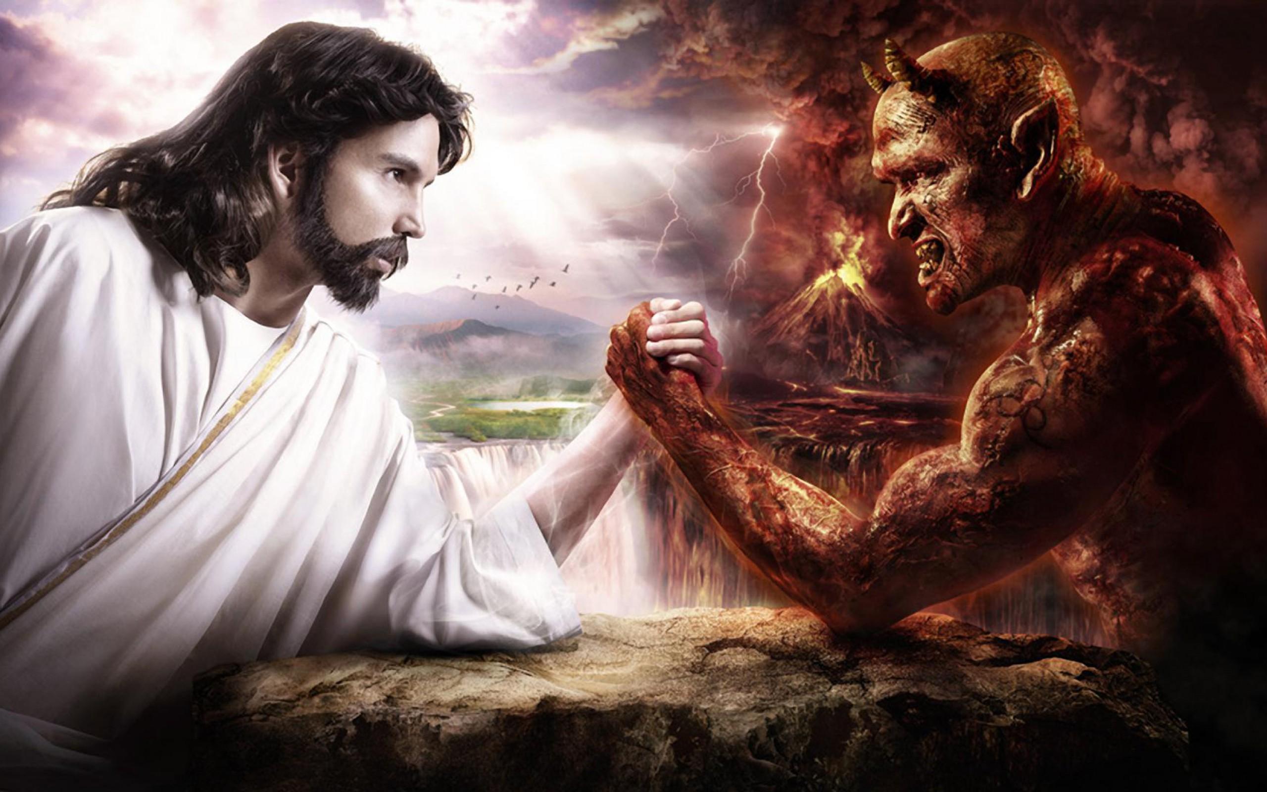Isus protiv sotone