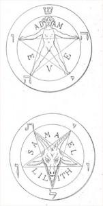 Ilustracije iz La Clef de la Magie Noire